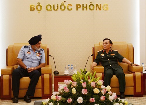 Training – bright spot in Vietnam-India defence ties hinh anh 1
