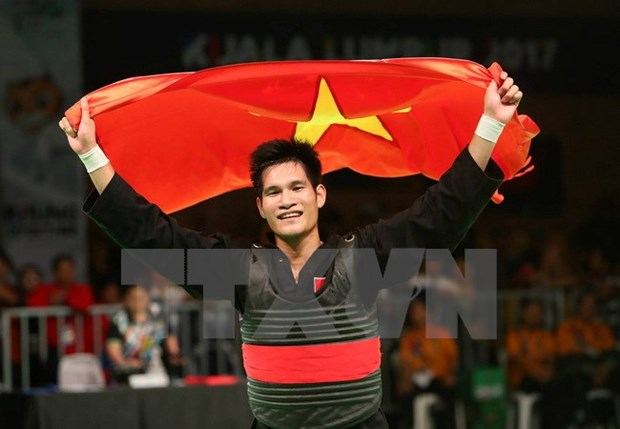 SEA Games 29: one more gold medal in pencak silat hinh anh 1