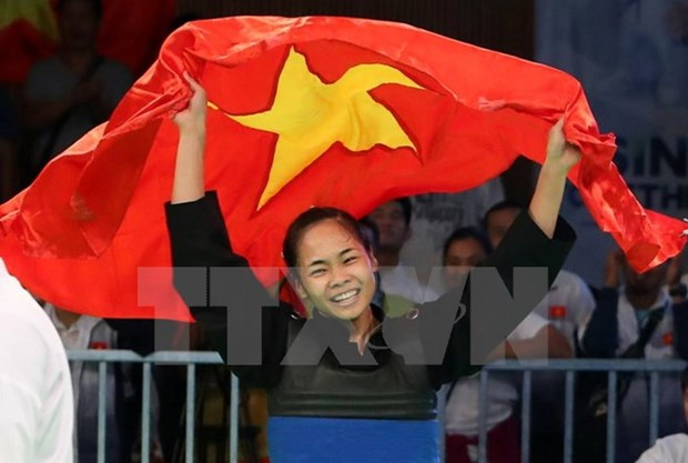SEA Games 29: Pencak silat brings gold for Vietnam as expected hinh anh 1
