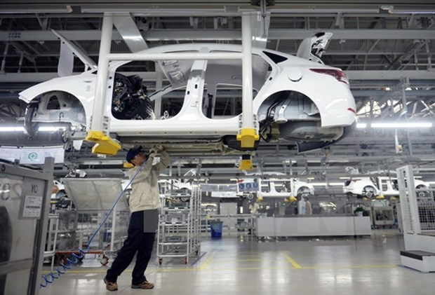 Thailand, Japan join hands to develop workers' skills in auto industry hinh anh 1