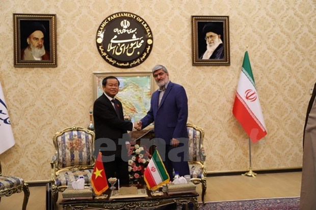 Vietnam's National Assembly enhances ties with Iranian Parliament hinh anh 2