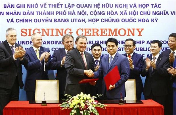 Hanoi, Utah state form cooperative partnership hinh anh 1