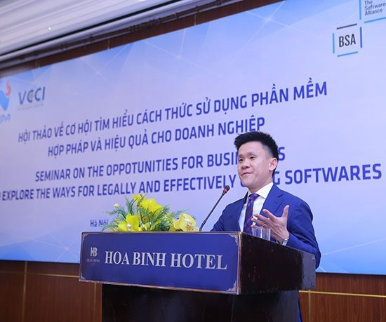 Licensed software boosts IP rights hinh anh 1