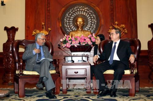 HCM City, UNDP boost cooperation hinh anh 1