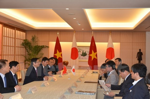 Vietnamese official meets Japanese parliament, foreign ministry leaders hinh anh 1