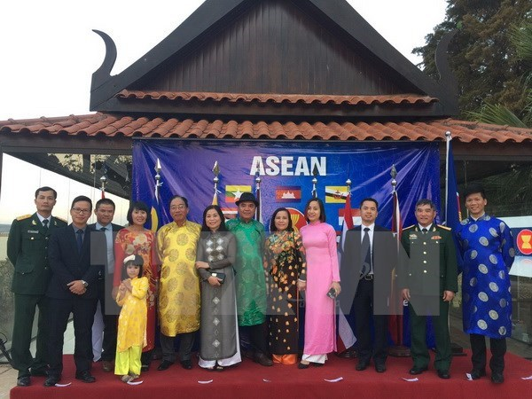 ASEAN's 50th founding anniversary marked in Brazil hinh anh 1