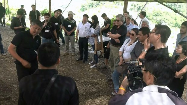 Colombian officials study Thailand's alternative crop project hinh anh 1