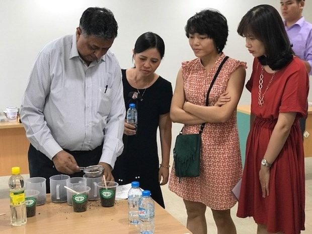Training workshop for teachers in science GLOBE programme hinh anh 1