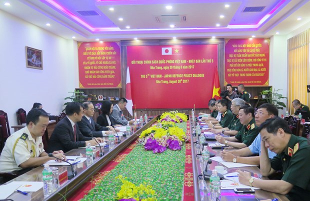Vietnam, Japan hold 5th defence policy dialogue hinh anh 1