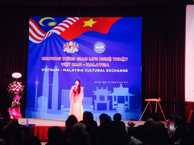 Art performance exchange tightens Vietnam, Malaysia relations hinh anh 1