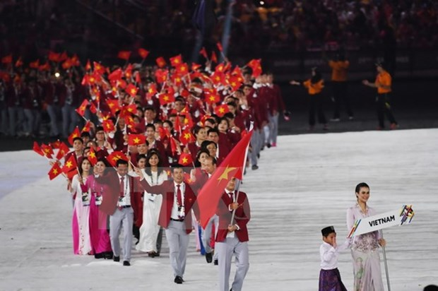 Vietnam fulfills target of being in top three at SEA Games 29 hinh anh 1