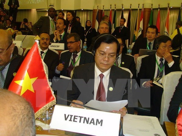 Vietnam attends FEALAC's Foreign Ministerial Meeting hinh anh 1