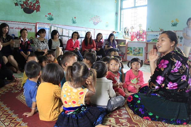 Over 4.3 billion VND to improve education for Dien Bien children hinh anh 1