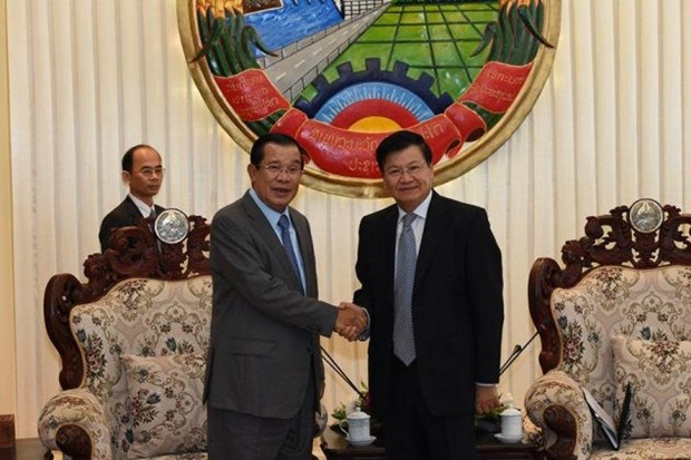 Cambodia, Laos agree to speed up talks over border issues hinh anh 1