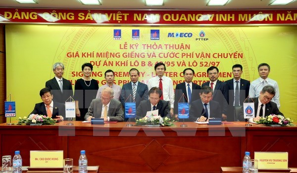 Gas prices, transport costs for Block B - O Mon project signed hinh anh 1