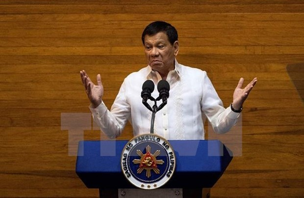 Philippines promulgates law penalising fake news spreaders hinh anh 1