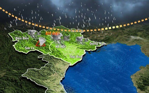 Gov't to fine bad weather forecasters hinh anh 1