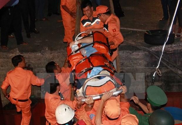 Injured Croatian sailor rescued off Hai Phong city hinh anh 1