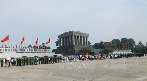 Late President Ho Chi Minh commemorated hinh anh 1