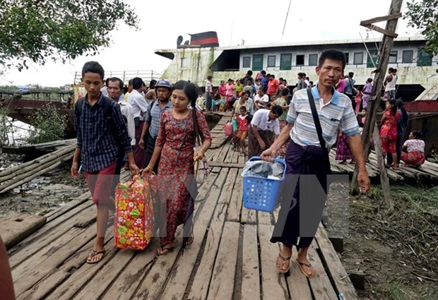 UN concerned about violence in western Myanmar hinh anh 1