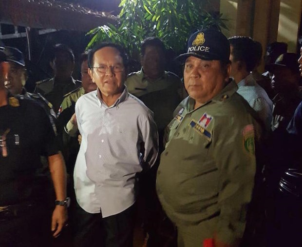 Cambodia: CNRP President arrested for treason hinh anh 1