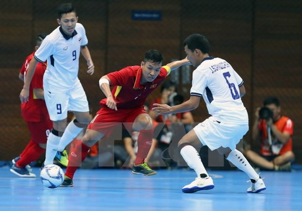 Vietnam's futsal team ready for Asian event hinh anh 1