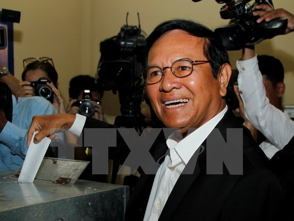 Cambodia: Opposition party leader charged with treason hinh anh 1