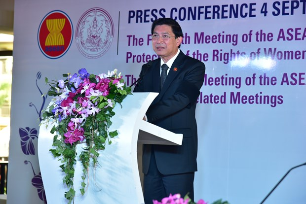 Thailand hosts regional conferences on women, children protection hinh anh 1