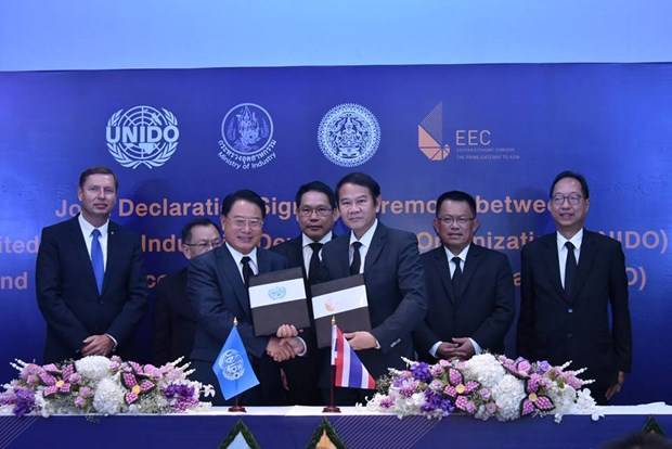 Thailand, UNIDO partner to develop EEC to 4.0 standards hinh anh 1