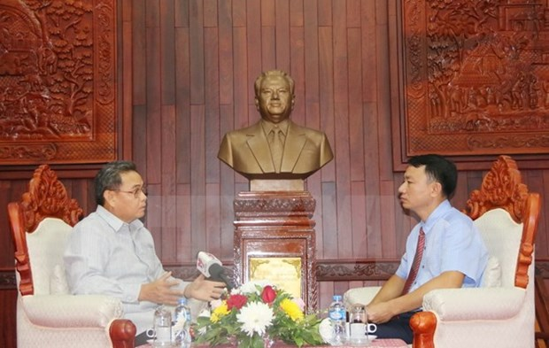 President Ho Chi Minh's teachings valuable to Laos's front work hinh anh 1