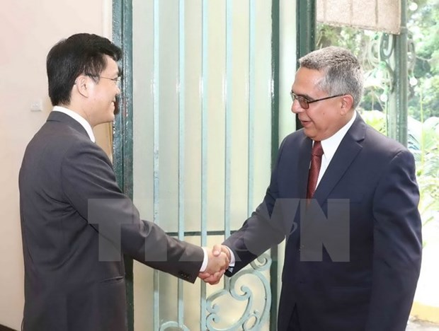 Vietnam, Cuba hold fourth political consultation in Hanoi hinh anh 1