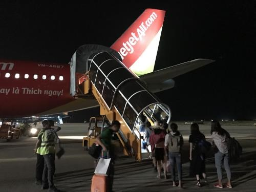 Vietjet carries 260,000 passengers during holiday hinh anh 1