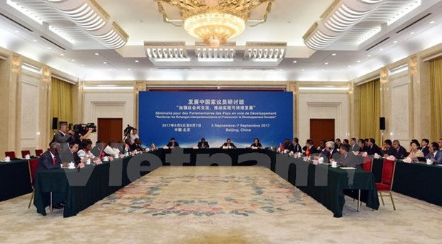 Vietnam attends Inter-Parliamentary Union seminar in China hinh anh 1