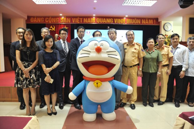 Slogan contest for traffic safety programme launched hinh anh 1