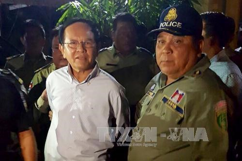 Cambodia: CNRP leader put in contemporary detention for treason hinh anh 1