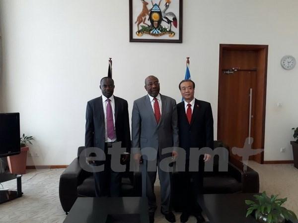 Uganda keen on boosting ties with Vietnam hinh anh 1