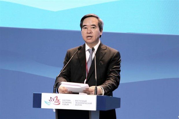 Central economic commission head attends Eastern Economic Forum hinh anh 1
