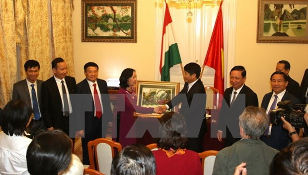 CPV wants to beef up ties with Hungarian Socialist Party hinh anh 1