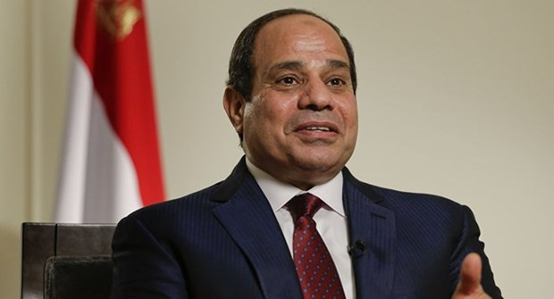 Egyptian President on first-ever State visit to Vietnam hinh anh 1