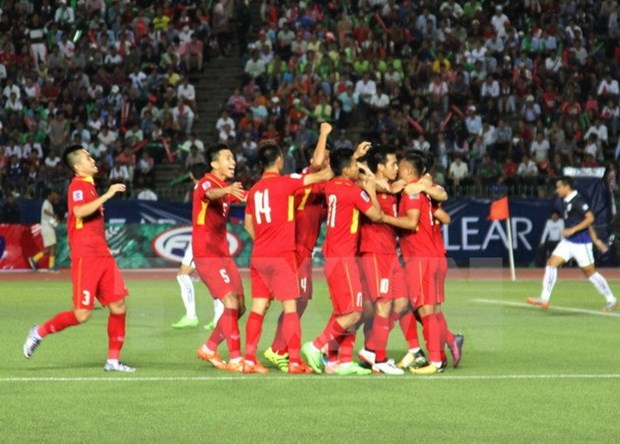 Vietnam beat Cambodia in AFC qualifier hinh anh 1