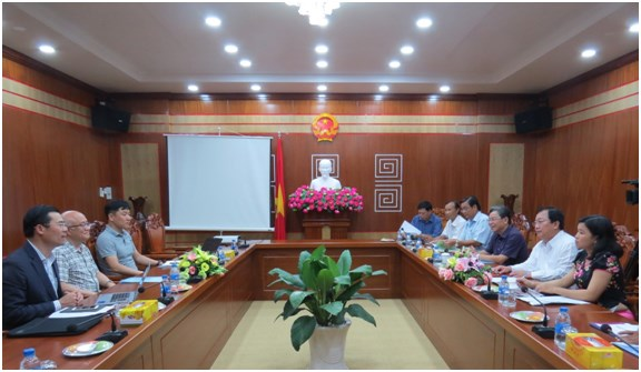 Soc Trang, RoK firm cooperate in developing garment factory hinh anh 1