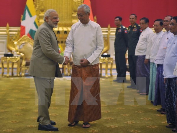 India to grant free visas to Myanmar citizens hinh anh 1