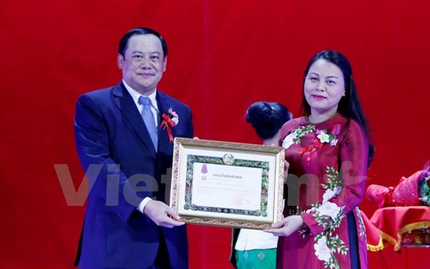 Vietnamese, Lao women contribute to fostering bilateral ties hinh anh 1