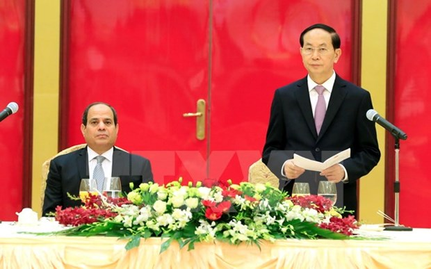 Egypt willing to enhance ties with Vietnam: President hinh anh 1