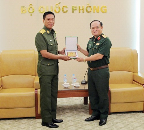Vietnam, Myanmar boost military medical cooperation hinh anh 1