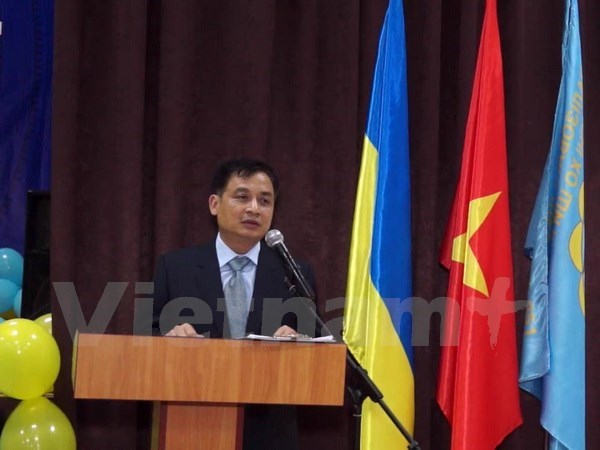 Vietnamese language class in Kiev welcomes new academic year hinh anh 1