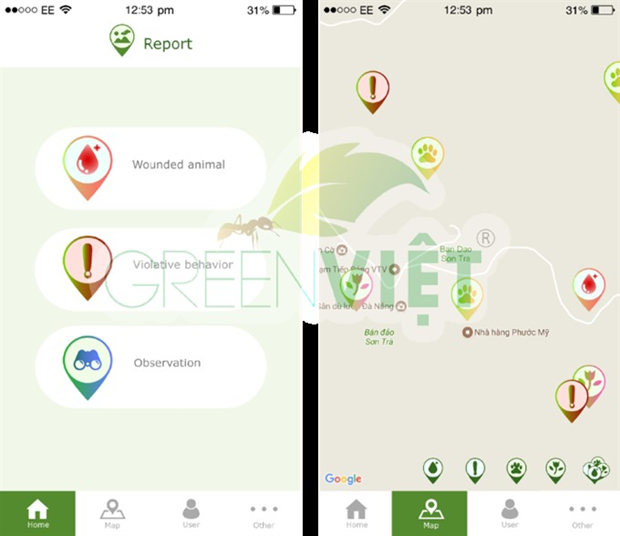 Smart phone app launched to protect Son Tra Nature Reserve hinh anh 1