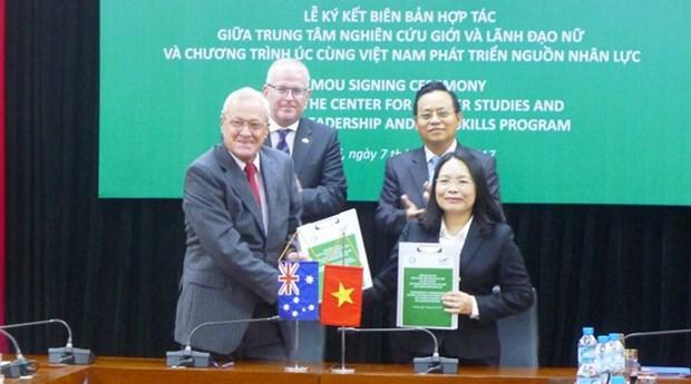 Vietnam, Australia partner to enhance gender equality hinh anh 1