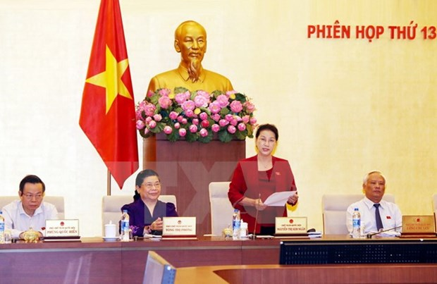 National Assembly Standing Committee to convene 14th session hinh anh 1