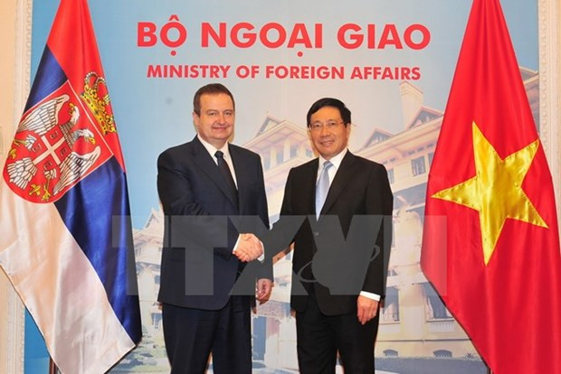 Vietnam, Serbia agree to build concrete cooperation framework hinh anh 1